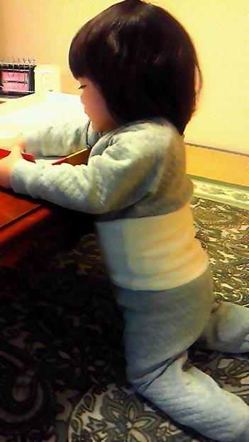 写真: 無印の腹巻きつきパジャマが...