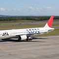 写真: 嵐ジェット(JA8982)・タキシー