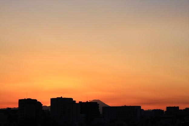 きょうの富士 1225