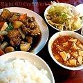 Photos: 鶏肉の黒酢炒め
