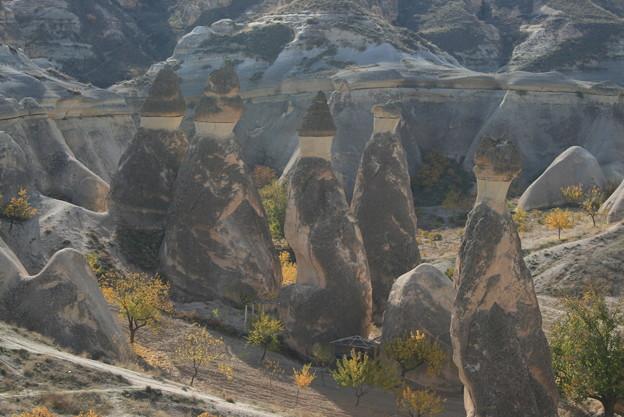 カッパドキア キノコ岩