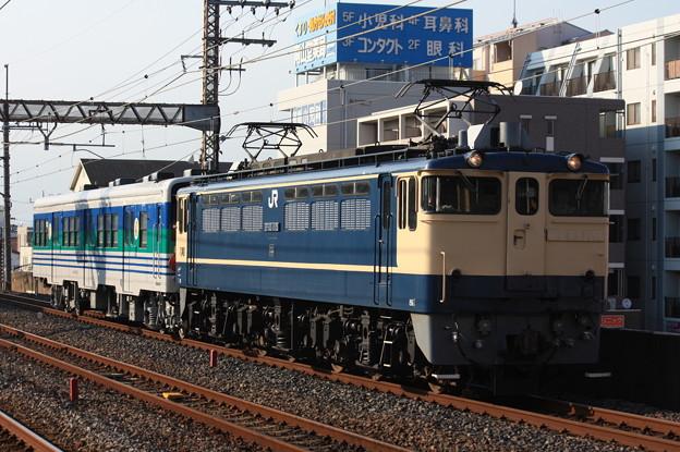EF65-1115+キハ38-1002