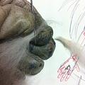 写真: 指を作る1