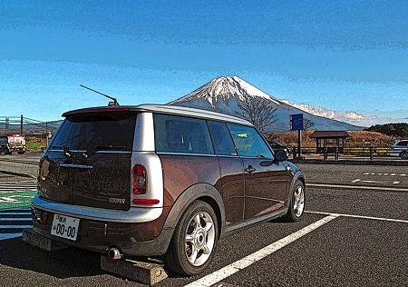 20091207富士山とクラブマン (12-3)
