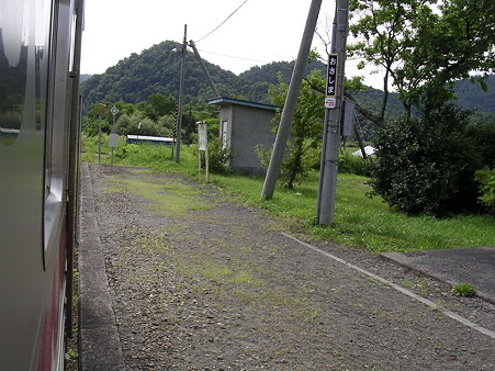 筬島駅ホーム1