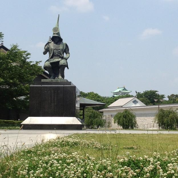 写真: 名古屋能楽堂:加藤清正像_04