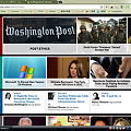 写真: Chromeアプリ:HuffingtonPost NewsGlide