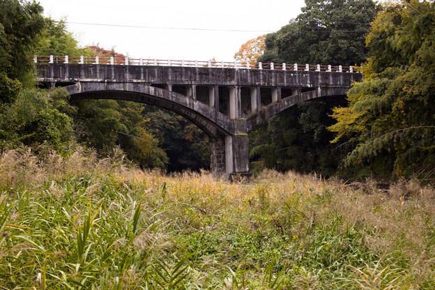 御坂のサイフォン橋