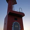 写真: 灯台の日之出