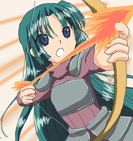 魔法剣士弓使いさん