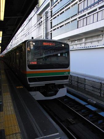 E231系湘南新宿ライン(横浜駅)