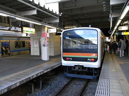 209系川越線(川越駅)