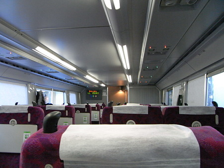 E231系湘南新宿ライングリーン車1Fの車内
