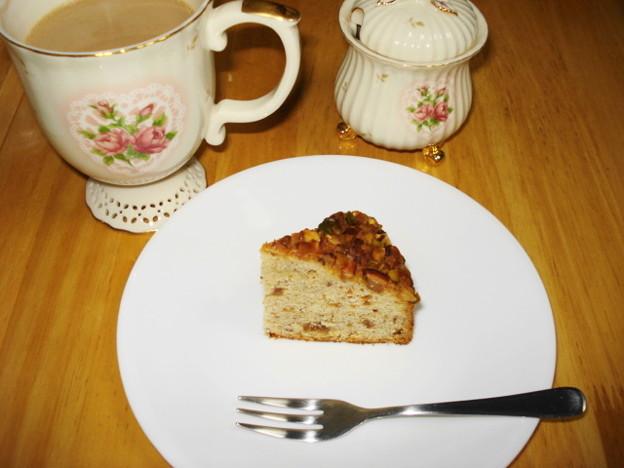 SWEET HONEYさん ナッツのケーキ