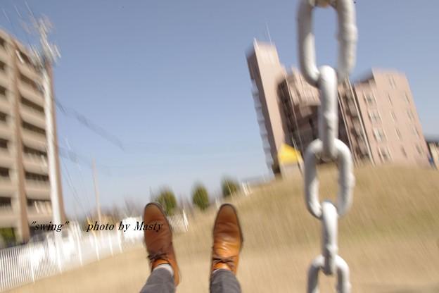 ブランコ。(swing)