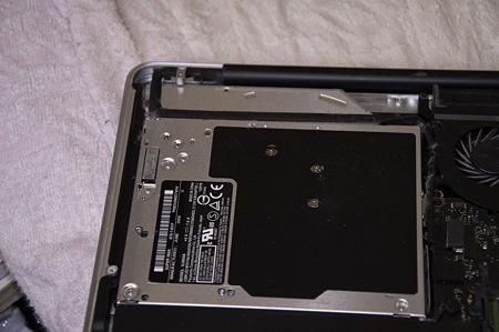 MacBookPro SSD交換&OptiBay導入作戦07