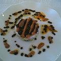 白身の魚のサラダ