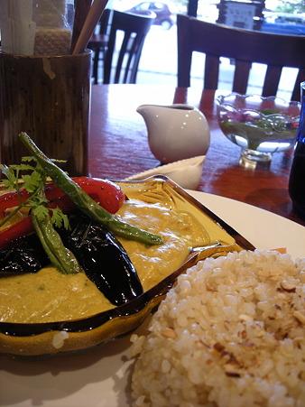 野菜と玄米のカレー