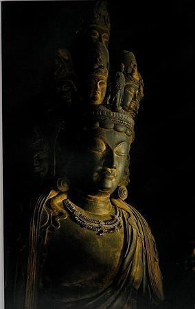滋賀高月 向源寺 国宝十一面観音菩薩立像