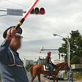 Photos: 馬の路面通過(^J^)