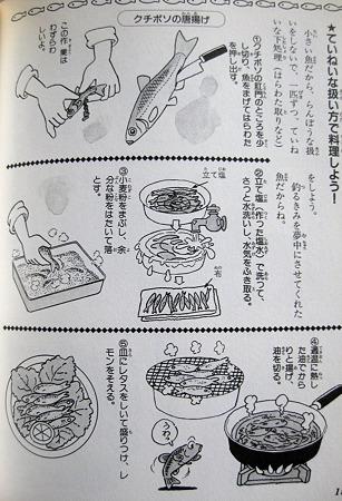 クチボソ料理