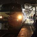 東海道本線 富士駅 寝台特急富士・はやぶさ