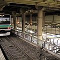 上野駅 12番線と17番線
