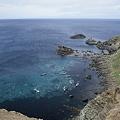 写真: 澄海岬の海