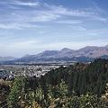 高森峠から見る南阿蘇高原
