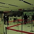 静岡空港JALカウンター