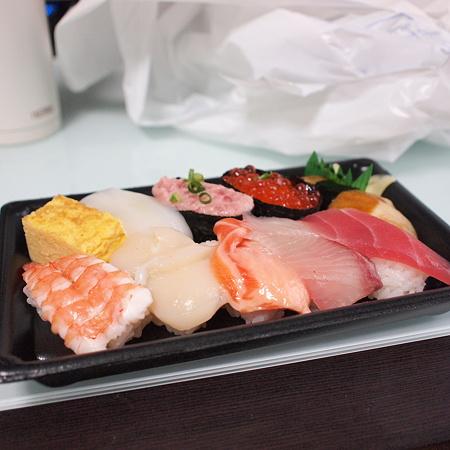 たまにはお寿司