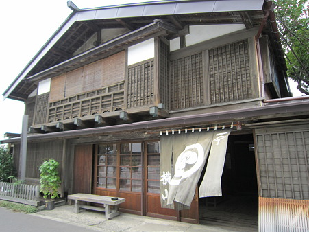 江差の旧家