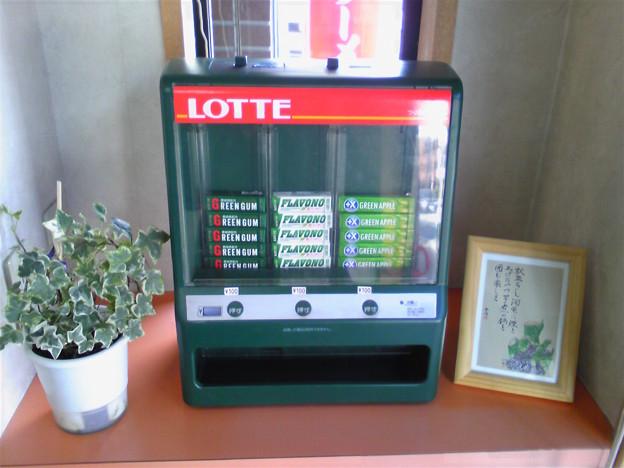 ガムの自販機