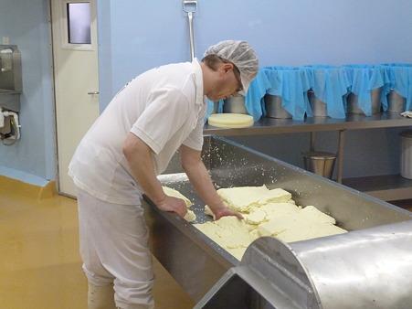 現在のチーズ作り