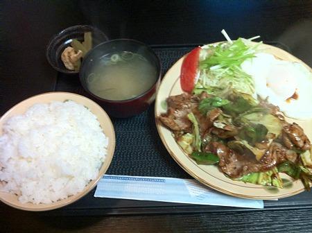 鶴の恩返し 回鍋肉定食