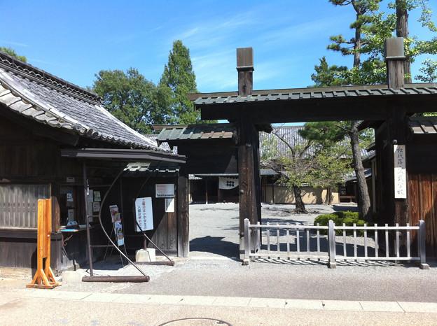 写真: 旧松代藩の文部学校