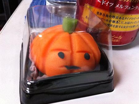 対ハロウィン専用和菓子