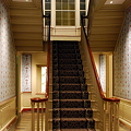 Staircase in McLellan House