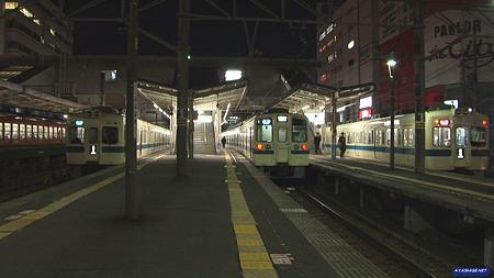 藤沢駅にて