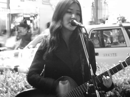 森恵さん街頭ライブ