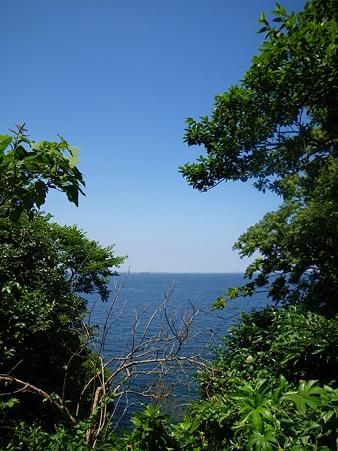 青い海、青い空!