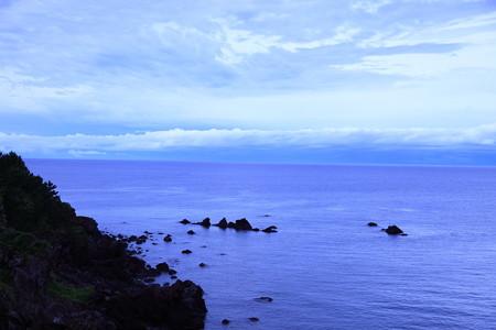 朝の日本海2