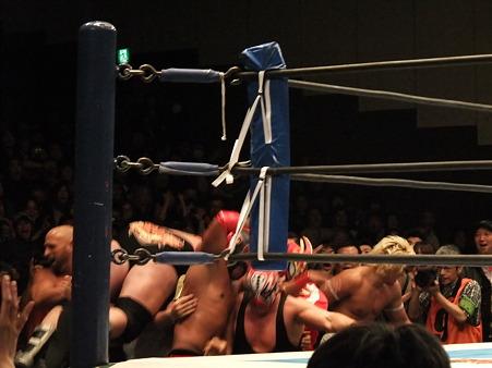 新日本プロレス CMLL 後楽園ホール 20110123 (23)