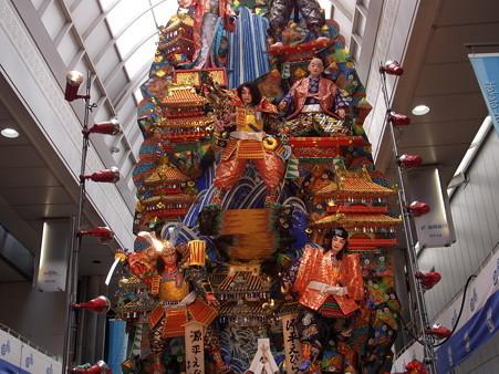 11 博多祇園山笠 飾り山 川端中央街 源平えびらの梅(げんぺいえびらのうめ)2012年 写真画像3
