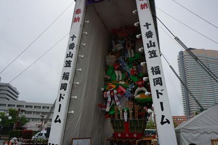 10 2014年 博多祇園山笠 福岡ドーム 飾り山笠 常勝玄界鷹 (5)
