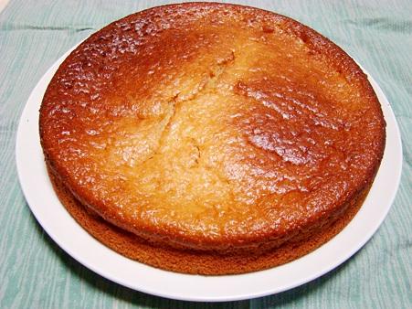 フルーチェで簡単ケーキ