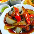 Photos: てんしん中華店 日替ランチ 甘酢肉団子定食 広島市南区的場町 Tianjin