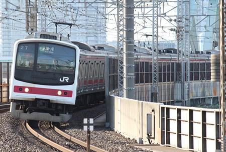 京葉線205系 ケヨ4編成 快速上総一ノ宮行き