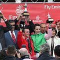 写真: 07年英チャンピオンS表彰式