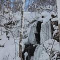 Photos: 岩の氷